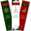 Tarjetas de Navidad para imprimir. Navidad clásica