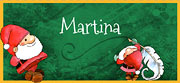 Tarjetas de Navidad para imprimir. Santa Claus